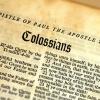 Considering Colossians